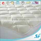 Extra Plush Bamboo Fitted Mattress Topper / Pad - Made in China - Queen