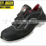 Safety Jogger nubuck leather S1P, composite toe safety shoes
