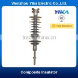 Wenzhou Yika IEC 33KV High Voltage Insulator Composite Type Polymeric Insulator Pin Type