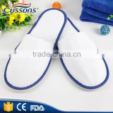 Disposable Travel Slippers Cheap Closed toe Non woven SPA Slippers