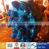 oil well drilling equipment/tci tricone drill bit/big diameter piling bit , machine spare part ,drilling for groundwater