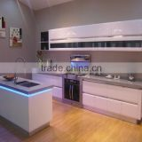 New arriving design full set kitchen cabinet/kitchen cabinet & material facotry (high gloss uv mdf & acrylic mdf)