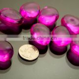 Colorful Wholesale Pebble Shaped Glass Gem Wishing Stones