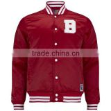 Custom Made Mens Varsity Satin Bomber Baseball Varsity Bomber Letterman School Winter Jacket Customize