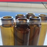 Bulk small bottles, tube glass vial for fish oil, oil glass vials with plastic cap                                                                         Quality Choice