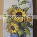 Beautiful 3D picture canvas flower oil painting