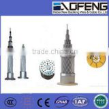 IEC standard Aluminum Stranded Wire and Price ACSR cable Aluminum Conductor Steel-reinforced