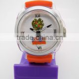 popular promotion unisex plastic watches manufacturer with bezel