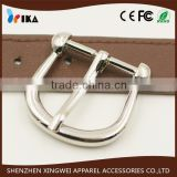 normal silver plated strap pin belt buckle