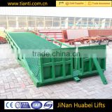 Mobile portable warehouse lifting ramp mobile hydraulic bridges in china