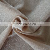 China wholesale 48% 45D nylon 14% 20D spandex 70D nylon silver yarn ultrathin fabric, shiny metalic silver yarn fabric for bra