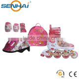 Beautiful and Hot-sale Inline Skate Combo for Kids Recreation Inline Skate Suit Roller SKate Shoes Set