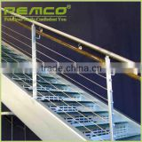 Customized stainless steel handrail stair railing designs in india