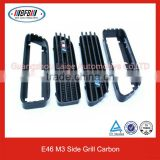 Replacement Parts Car Side Vent M3 Style Carbon Side Grill Fits For E46/E90/E92