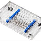 stainless steel sterilization dental tray for dental supplies (Y502)