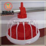 Hot Sale Plastic Animal Feed Trough Poultry chicken feeder pan and drinker trough nipple drinker