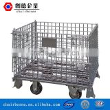 heavy duty stackable mesh box pallet for warehouse from China