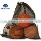 Basketball mesh bag for ball equipment