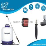 backpack or electrostatic Agrochemical pesticide garden sprayer
