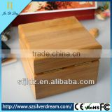 High Quality Bamboo Watch Box Natural Color