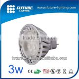 Indoor spotlight Aluminum body Edison led lamp chip die-casting style lighting GU10 3x2W led spot light