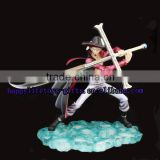 Wholesale ONE PIECE sexy character Mihawk anime action figurine with sword glowing in dark
