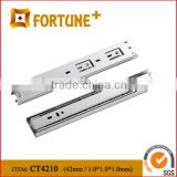 CT4210 42MM Kitchen Drawer 3 Sections Drawer Runner Ball Bearing Soft Closing Hydraulic Slide Rail For Drawer Parts
