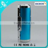 Newest fashion design new battery loud speaker 5000 mah power bank with torch light