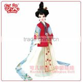 High end China mini fairy plastic doll toy gift