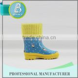 Best selling 10 Years experience Environmental Summer rubber cowboy rain boots wholesale