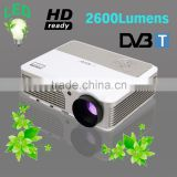 Support HD 1080p TV Video Projector 2500 Lumen LED Lamp up to 50000 hours Red Blue 3D for Home