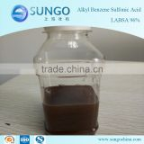 sulfonic acid labsa 96 chemicals for making liquid soap