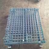 Rolling Metal Storage Cage