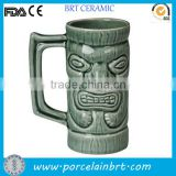 USA Souvenir Big Capacity Tiki Design Whisky Mug