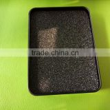 metal matte black square tin box/coin tin container