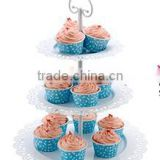 Cup Cake /Dessert /Fruit Tree Plate---- 3 Tiers--detachable 13'x16.5'