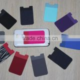 wholesale Mobile Phone silicone card holder/silicone smart wallet