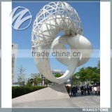 Modern abstract garden art metal sculptures