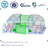 2014 best sold outdoor bike shelter/bike carport/ bicycle carport(ISO,TUV,SGS approved)