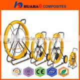 Flexible Fiberglass Duct Rodder With High Quality Easy Handle Cable Laying Tools Cable Snake Conduit Duct