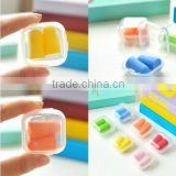 Cheap silicone ear plug/prevent noise earplugs/noise insulation earplugs as seen on tv