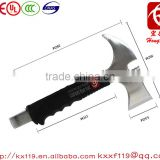 Stainless steel escape rescue axe fire fighting stainless steel camping axe