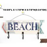 Wooden lead summer fashionable crafts beach signs with sayings