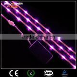 solar powered led flexible strip lights light string outdoor strip led