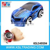 Novel design 2.4g high speed car sound control smart watch kids toys