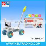 Ride on baby cars with push handle for children