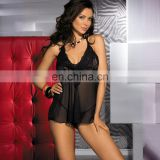 Beauty love sexy hot lace sleepwear with underwearSexy Babydoll sexy lingerie