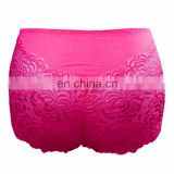 BestDance sexy Dark Pink underwear high waist cut briefs panty thong underwear for women OEM