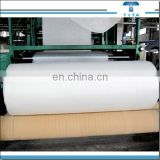20-50GSM raw white water soluble pva material interlining, non woven fabric roll for embroidered lace from Hangzhou