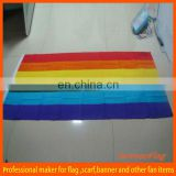 custom colorful rainbow flag